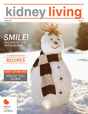 Cover Image for Kidney Living Winter 2015