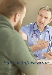Patient Information to schedule and prepare for an appointment